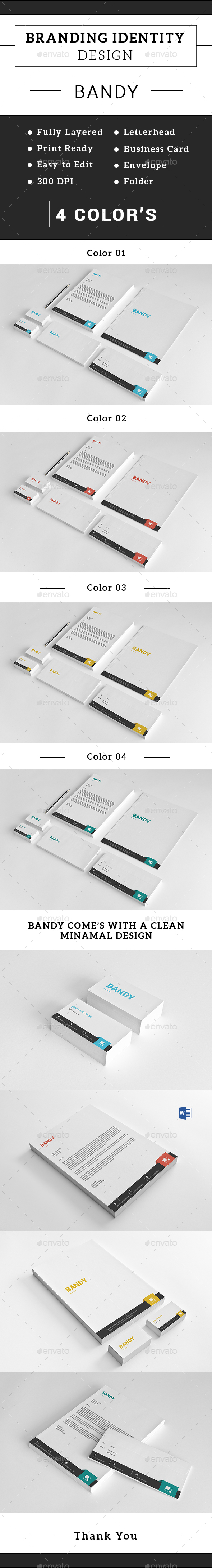 Corporate Stationery Set-v01 - Stationery Print Templates