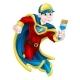 Painter Decortator Super Hero