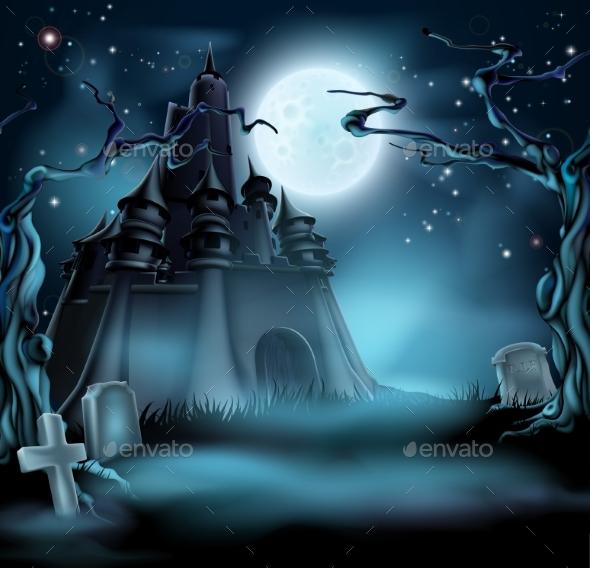 Spooky Halloween Castle - Halloween Seasons/Holidays