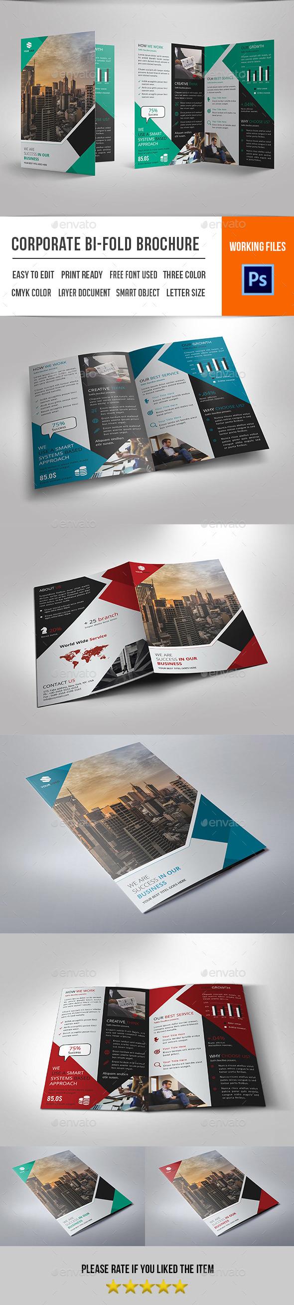 Bifold Brochure for Business-V420 - Corporate Brochures