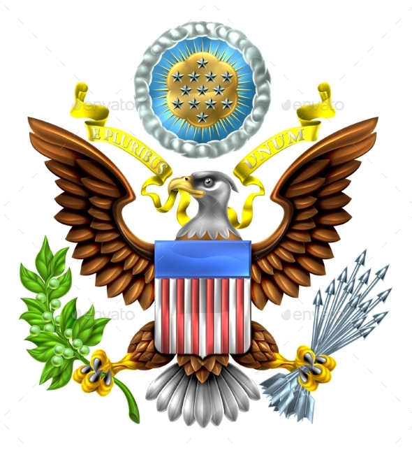 Seal of the United States - Miscellaneous Vectors
