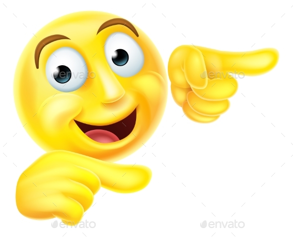 Emoji Emoticon Smiley Pointing - Miscellaneous Characters