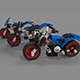 Lego motorcycle pack - 3DOcean Item for Sale