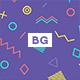 Memphis Geometric Backgrounds - GraphicRiver Item for Sale