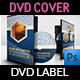 Islamic DVD Cover and Label Template - GraphicRiver Item for Sale