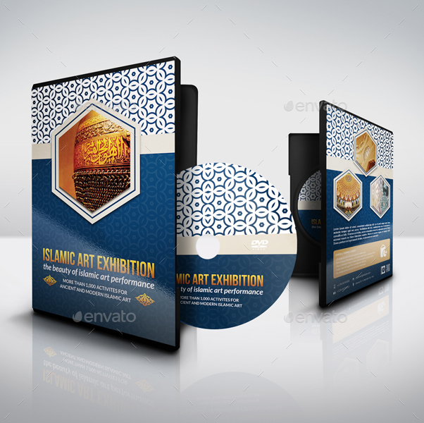 Islamic Dvd Cover And Label Template By Owpictures Graphicriver