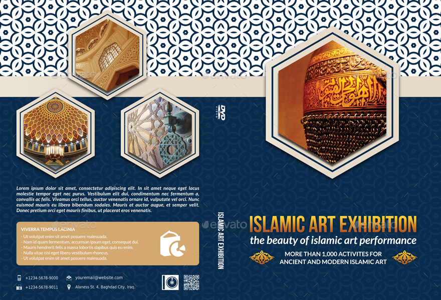 Islamic dvd cover and label template by owpictures graphicriver islamic dvd cover and label template toneelgroepblik Gallery