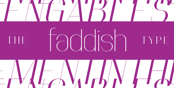 Faddish - Sans-Serif Fonts