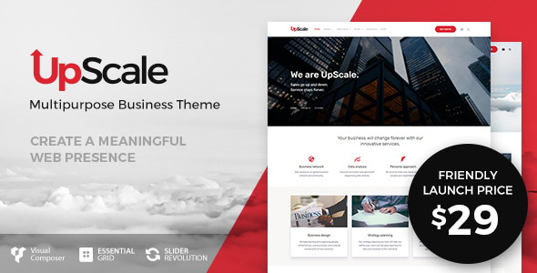 UpScale – Multi-Purpose Business Theme