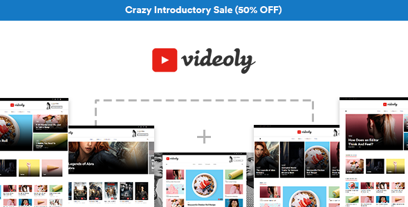 Videoly – Video WordPress Theme
