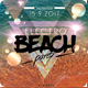 Electro Beach Flyer - GraphicRiver Item for Sale