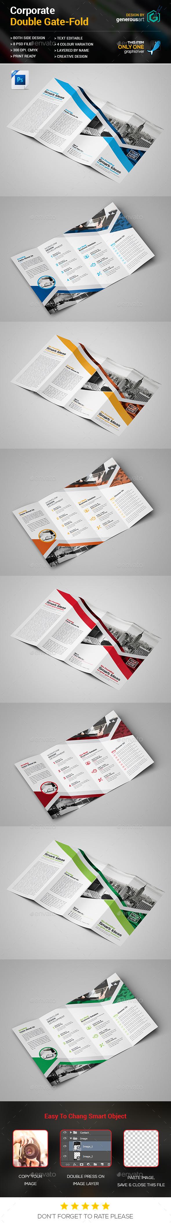 Double Gate-fold Design - Corporate Brochures