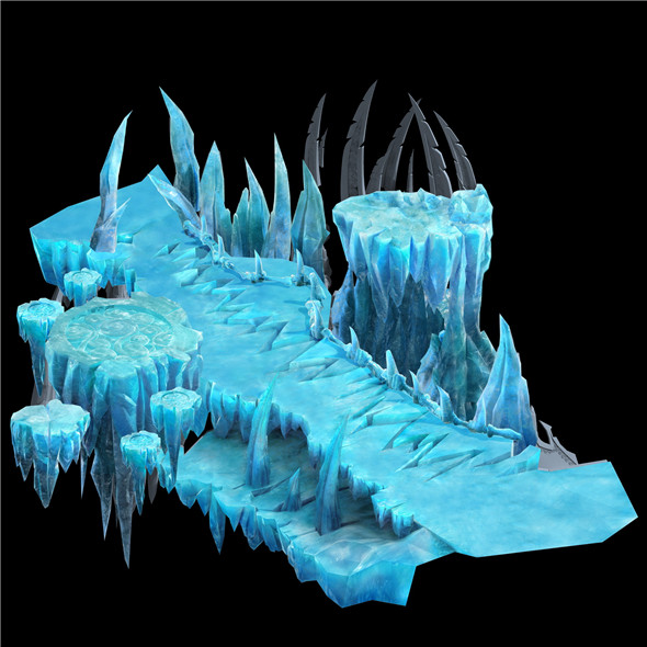 Game Model - Snow - Fairy Magic battle of wits Remains 01 - 3DOcean Item for Sale