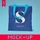 Canvas Tote Bag Mock-up Vol. 2