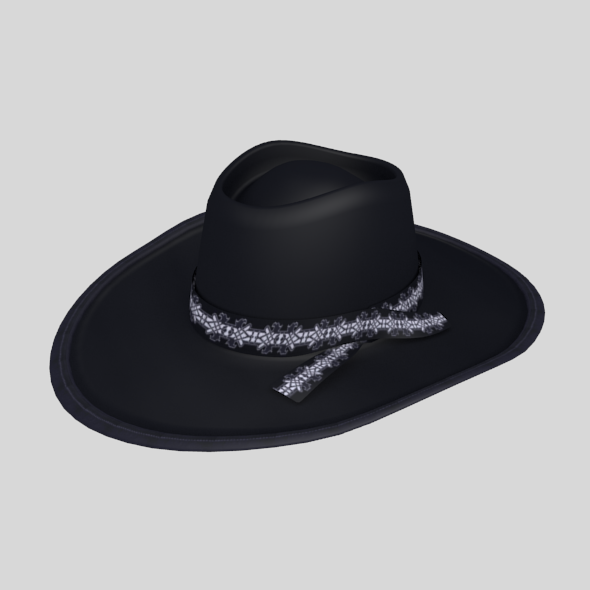 Don mafia black hat - 3DOcean Item for Sale