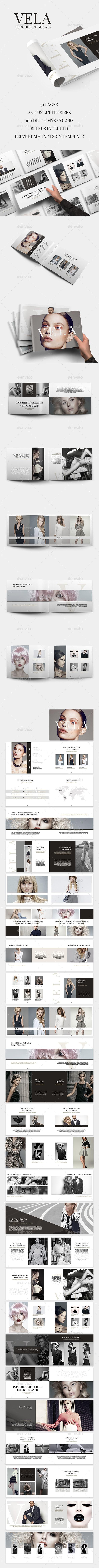 Vela Brochure Template - Catalogs Brochures