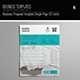 Business Proposal Template Single Page US Letter - GraphicRiver Item for Sale