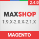 Maxshop - Premium Magento 2 and 1.9 Store Theme Nulled