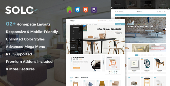 Image of Solo - Prestashop Furniture/Interior Store Theme