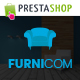 Furnicom - Responsive Prestashop Furniture Theme Nulled