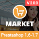 Market - Responsive Multipurpose Prestashop 1.6 and 1.7 Theme Nulled
