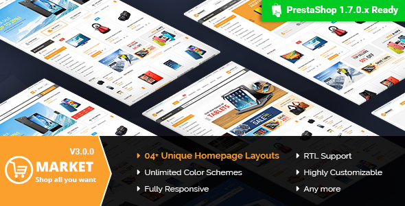 Market - Responsive Multipurpose Prestashop 1.6 and 1.7 Theme