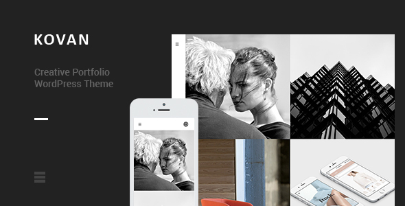 Kovan – Creative Portfolio WordPress Theme