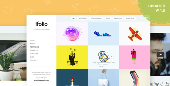 iFolio - Creative Portfolio Template