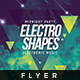 Electro Shapes - Flyer Template - GraphicRiver Item for Sale