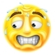 Scared Emoticon Emoji