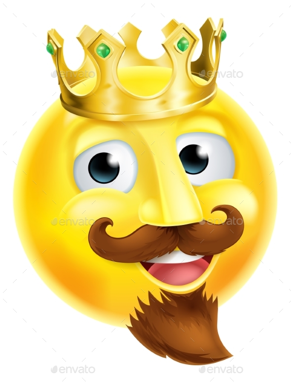King Emoji Emoticon - Miscellaneous Characters