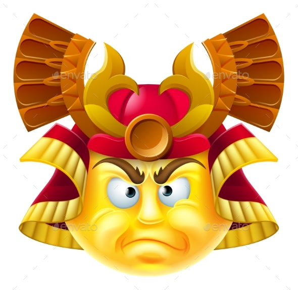 Samurai Emoji Emoticon - Miscellaneous Characters