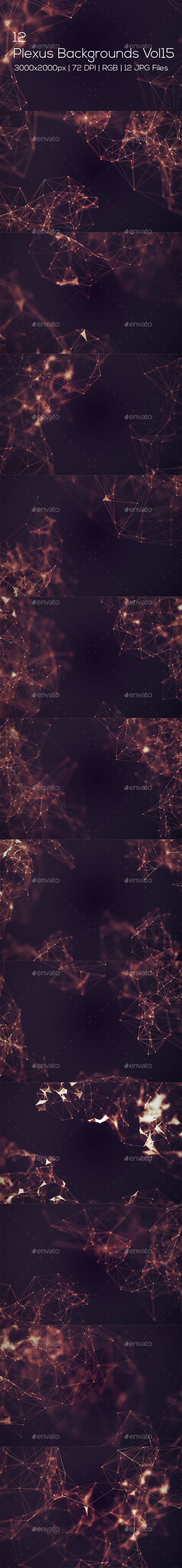 Plexus Backgrounds Vol15 - Abstract Backgrounds