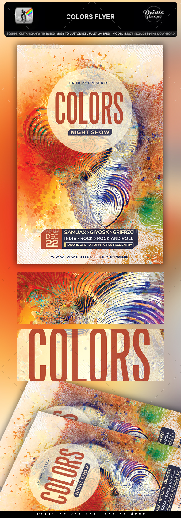 Colors Flyer - Events Flyers