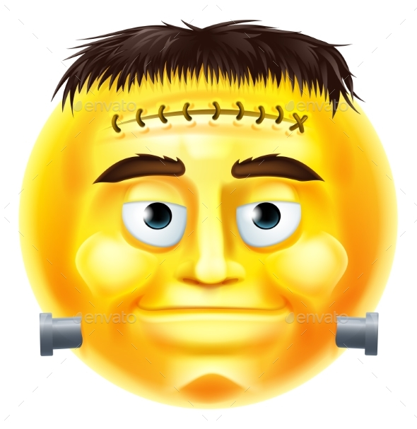 Halloween Monster Emoji Emoticon - Miscellaneous Characters