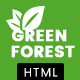 GreenForest - Environmental Ecology Responsive Template Nulled