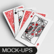 Playing Poker Card Mockups