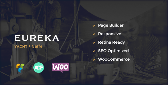 Eureka - Marine & Restaurant Theme - Corporate WordPress