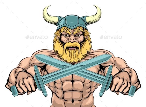 Tough Viking Sword Warrior - People Characters