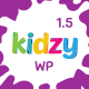 KIDZY - Responsive Kindergarten & Preschool WordPress Theme Nulled