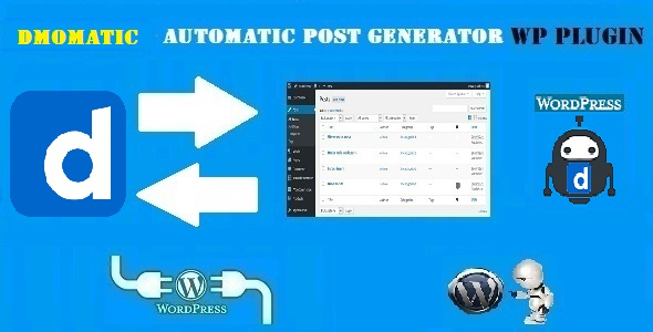DMomatic Automatic Post Generator and Dailymotion Auto Poster Plugin for WordPress - CodeCanyon Item for Sale