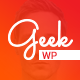 Geek - Personal Resume & Portfolio WordPress Theme Nulled