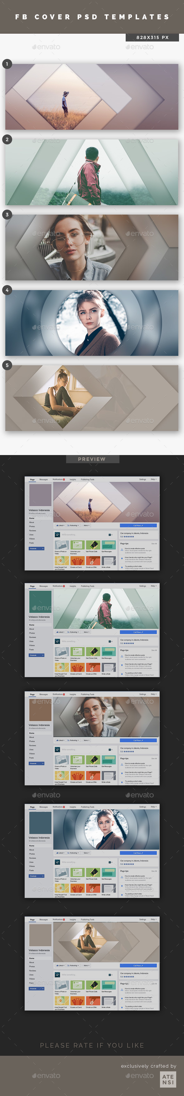 Urban Creative Facebook Cover - Social Media Web Elements