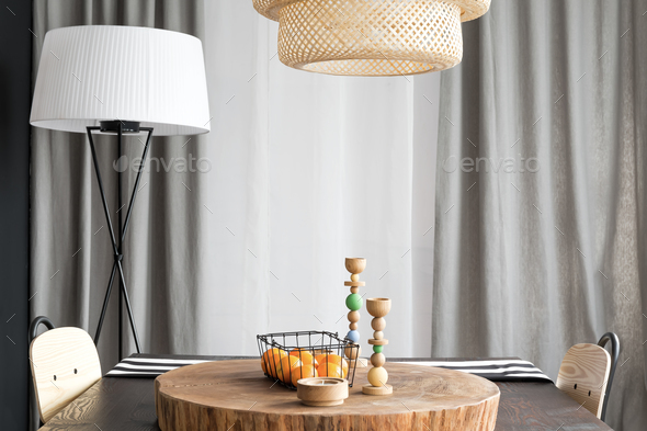 Dining table for two - Stock Photo - Images