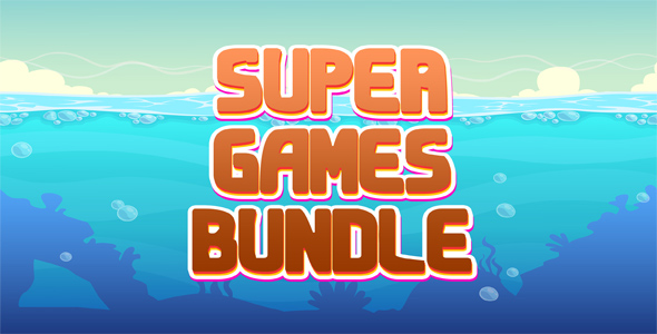 Super 10 Games Bundle №1 - CodeCanyon Item for Sale