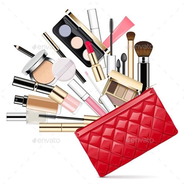 Makeup Bag - Miscellaneous Vectors