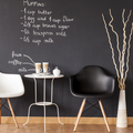 Black and white coffee space