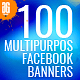 100 - Multipurpose Facebook Banners