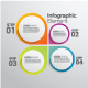 Set of 4 Infographic Elements Templates - GraphicRiver Item for Sale