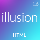 illusion - Premium Multipurpose HTML Template Nulled
